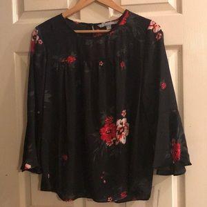 Valerie Stevens chiffon blouse. Size M